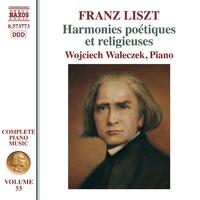 リスト: ピアノ曲全集 第53集 - 詩的で宗教的な調べ
