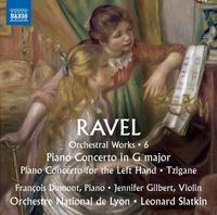 ラヴェル: 管弦楽作品集 第6集 ピアノ協奏曲