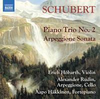 シューベルト: アルペジョーネ・ソナタ/ピアノ三重奏曲第2番