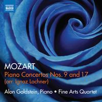 モーツァルト(I.ラハナー編): ピアノ協奏曲第9番&第17番