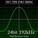 Test Tone 24bit 192kHz -16dB/High-Resolution Audio