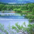 合唱練習シリーズ12 髙田三郎/混声合唱組曲 「水のいのち」 (ソプラノ1パート用)/石山正明