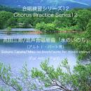 合唱練習シリーズ12 髙田三郎/混声合唱組曲 「水のいのち」 (アルト1パート用)/石山正明