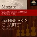 モーツァルト:クラリネット五重奏曲 イ長調K.581/Fine Arts Quartet / Reginald Kell, Clarinet