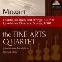 モーツァルト:ホルンと弦楽のための五重奏曲変ホ長調 K.407/オーボエと弦楽のための四重奏曲ヘ長調 K.370