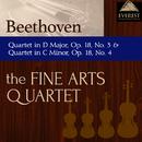 ベートーヴェン:弦楽四重奏曲 第3番 ニ長調 op.18-3/弦楽四重奏曲 第4番 ハ短調 op.18-4/The Fine Arts Quartet