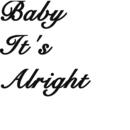 Baby It's Alright/Yuta Kitajima