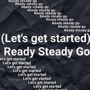 (Let's get it started) Ready Steady Go/自己男チェスターズ