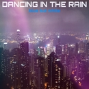 DANCING IN THE RAIN/blue but white