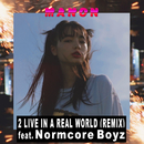 2 LIVE IN A REAL WORLD (REMIX) [feat. Normcore Boyz]/MANON