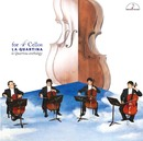 for 4 Cellos 4本のチェロのために ~ラ・クァルティーナ・アンソロジー~/ラ・クァルティーナ 藤森亮一(チェロ) 藤村俊介(チェロ) 銅銀久弥(チェロ) 桑田歩(チェロ) ヨセフ・モルナール(ハープ)