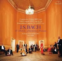 J.S. バッハ:2つのヴァイオリンのための協奏曲、他/新イタリア合奏団 フェデリコ・グリエルモ(ソロ・ヴァイオリン) ミリアム・ダル・ドン(ヴァイオリン) ロベルト・ロレッジアン(チェンバロ) マリオ・フォレーナ(フルート)