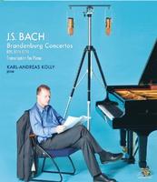 J.S. バッハ:ブランデンブルク協奏曲(ピアノ編曲版)/カール=アンドレアス・コリー(ピアノ)