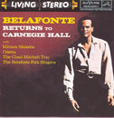 Belafonte Returns to Carnegie Hall/Harry Belafonte