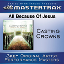 All Because Of Jesus [Performance Tracks]/Casting Crowns