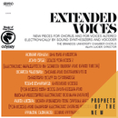 Extended Voices/The Brandeis University Chamber Chorus & Alvin Lucier