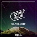 Spaceship/Comet Blue