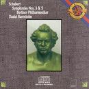 Schubert: Symphonies Nos. 3 & 5/Berlin Philharmonic Orchestra, Daniel Barenboim