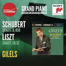 "Schubert: Piano Sonata No. 17 in D Major, Op. 53, D. 850 ""Gasteiner"" - Liszt: Piano Sonata in B Minor, S. 178/Emil Gilels"