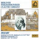 Mozart: Symphonies Nos. 25, 31, Maurerische Trauermusik & Serenade No. 9 in D Major/Claudio Abbado