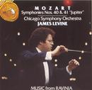 """Mozart: Symphony No. 40 / Symphony No. 41 (""""Jupiter"""")/James Levine"""