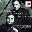 Prokofiev: Piano Concertos Nos. 2, 4 & Overture on Hebrew Themes/Yefim Bronfman, Israel Philharmonic Orchestra, Zubin Mehta