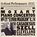 "Mozart: Piano Concerto No. 21 in C Major, K. 467 ""Elvira Madigan"" & Piano Concerto No. 24 in C Minor, K. 491/Robert Casadesus, Members of the Cleveland Orchestra, George Szell"