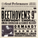 """Beethoven: Symphony No. 9 in D Minor, Op. 125 """"Choral""""/Eugene Ormandy"""