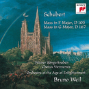 Schubert: Mass in F Major, D 105; Mass in G Major, D 167/Orchestra Of The Age Of Enlightenment, Bruno Weil