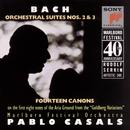 Bach: 14 Canons & Orchestral Suites Nos. 2 & 3/Marlboro Festival Orchestra, Pablo Casals