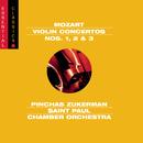 Mozart: Violin Concertos Nos. 1-3/The Saint Paul Chamber Orchestra, Pinchas Zukerman