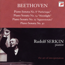 "Beethoven: Piano Sonatas No. 8 ""Pathétique""; No. 14 ""Moonlight""; No. 23 ""Appassionata"" & No. 30 [Rudolf Serkin - The Art of Interpretation]/Rudolf Serkin"