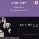 Schubert: Piano Sonata, D. 959; Four Impromptus, D. 935 [Rudolf Serkin - The Art of Interpretation]/Rudolf Serkin
