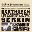 "Beethoven: Piano Concerto No. 1 in C Major, Op. 15 & Piano Sonata No. 26 in E-Flat Major, Op. 81a ""Les adieux""/Rudolf Serkin"