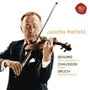 Brahms: Violin Concerto in D; Chausson: Poeme; Bruch: Scottish Fantasy/Jascha Heifetz