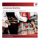 Brahms:  Hungarian Dances No. 1-21; Waltzes, Op. 39 for Piano for Four Hands/Tal & Groethuysen