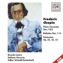 Chopin: Piano Concertos Nos. 1& 2/Ricardo Castro