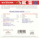 Mozart: Clarinet Concertos/Flute & Harp Concerto/Richard Stoltzman