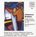 Brahms: Cto. For Violin + Cello Op.102/Piano Quartet No.1/Cristian Mandeal