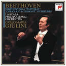 """Beethoven: Symphony No. 6 """"Pastoral"""" and Coriolan & Egmont Overtures/Carlo Maria Giulini"""