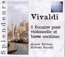 Vivaldi: 6 Sonatas Violoncelle Et Basse Continue/Anner Bylsma