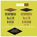 Beethoven: Symphony No. 4 in B-Flat Major, Op. 60 - Schumann: Symphony No. 4 in D Minor, Op. 120/Pierre Monteux