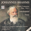 Johannes Brahms: Piano Concertos 1 + 2/Cristian Mandeal