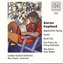 Copland: Appalachian Spring/Quiet City/Rodeo etc./Ross Pople