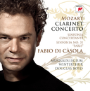 Mozart: Clarinet Concerto/Fabio Di Casola