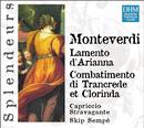 DHM Splendeurs: Monteverdi Lamentations D' Arianne/Skip Sempé