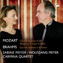 Mozart, Brahms: Clarinet Quintets/Carmina Quartet