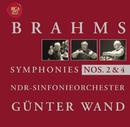 Brahms: Symphonies 2 + 4/Günter Wand