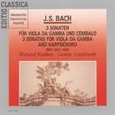 Bach: Viola Da Gamba Sonaten/Wieland Kuijken