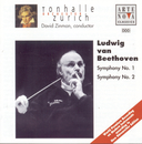 Beethoven: Symphonies No. 1 & 2/David Zinman
